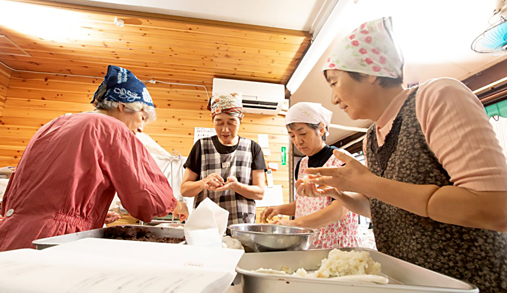 高石餅店の従業員の画像