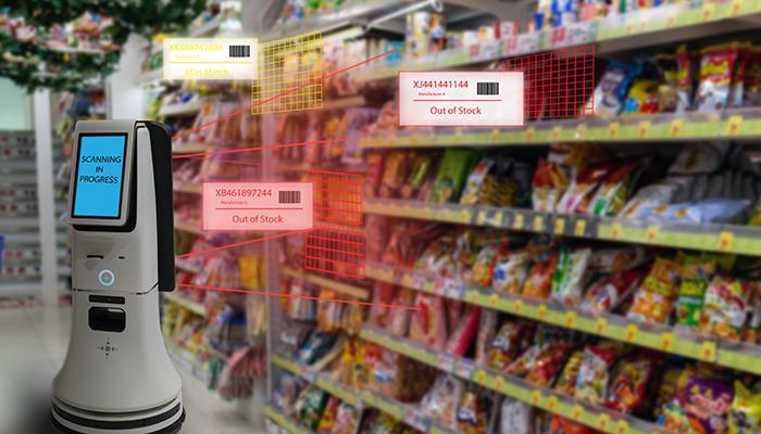 スーパーマーケットでのAI活用
