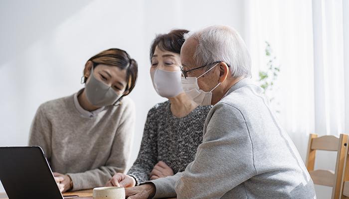 日本の家庭のイメージ
