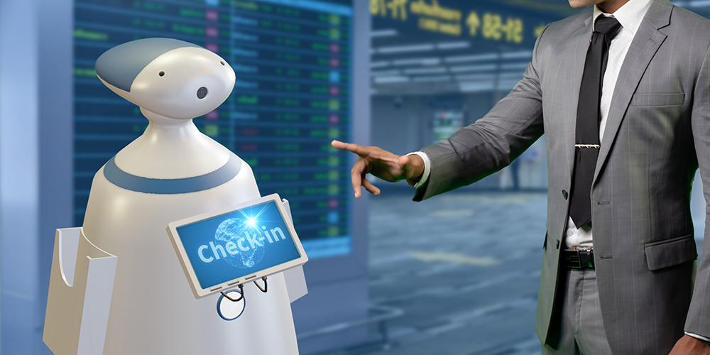 ロボット案内