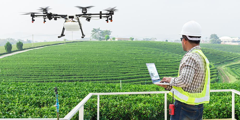スマート農業のイメージ