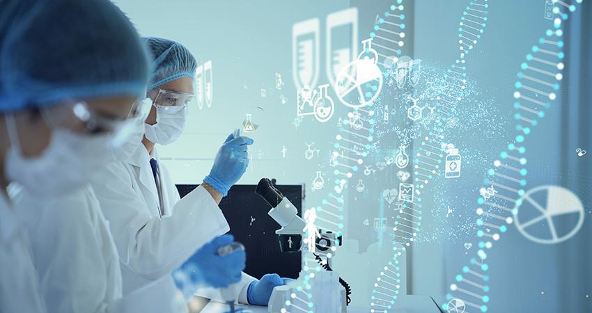 ワクチン開発のイメージ画像